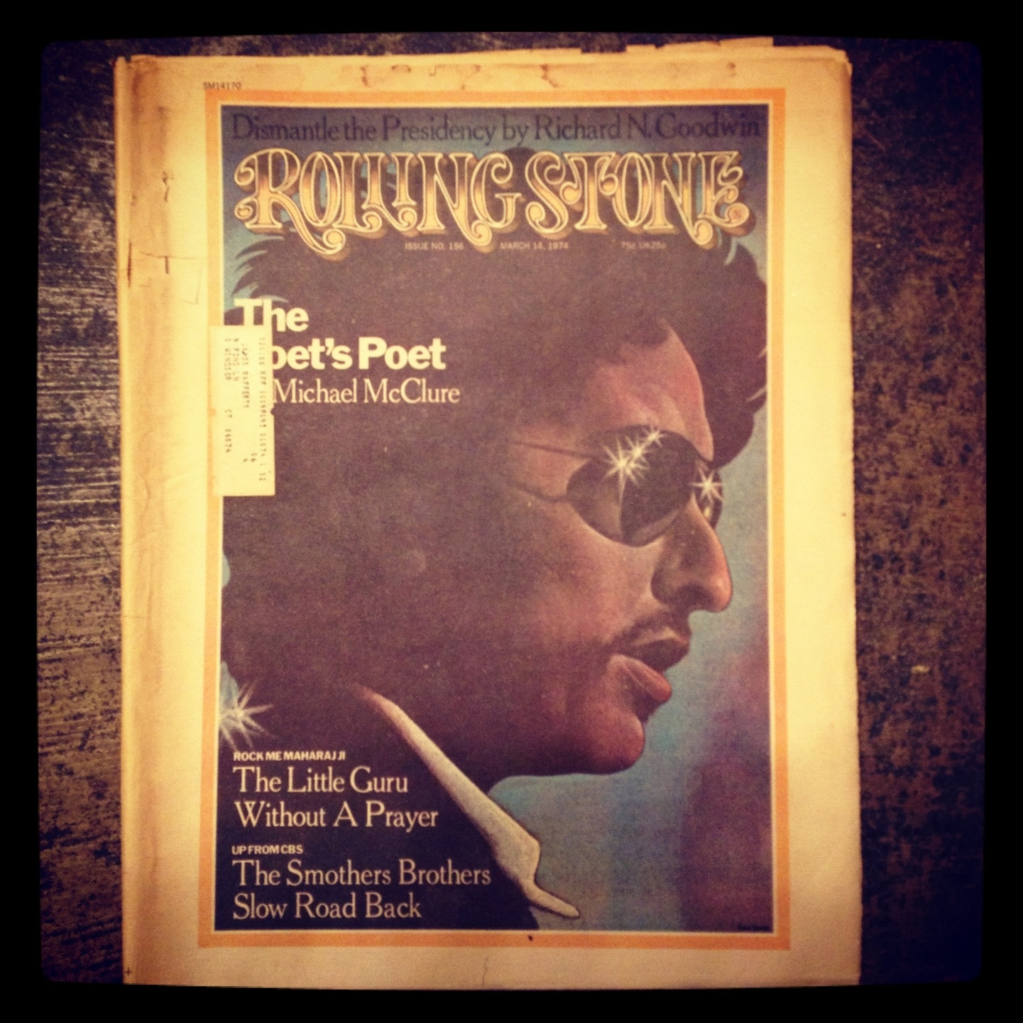 Vintage Rolling Stone - December 6, 1973 Back Issue No. 149 The Allman Brothers