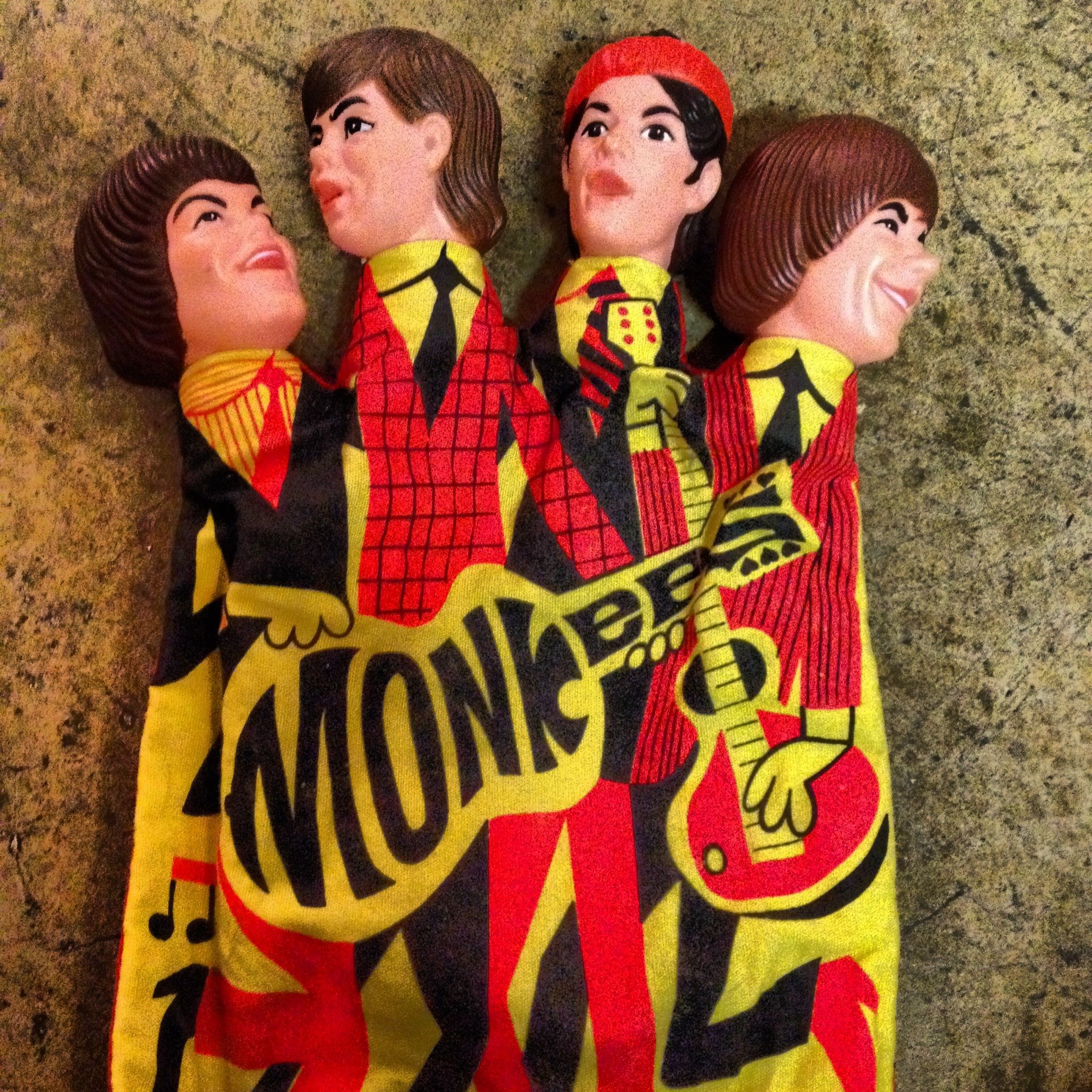 Monkees Hand Puppet Dolly Python