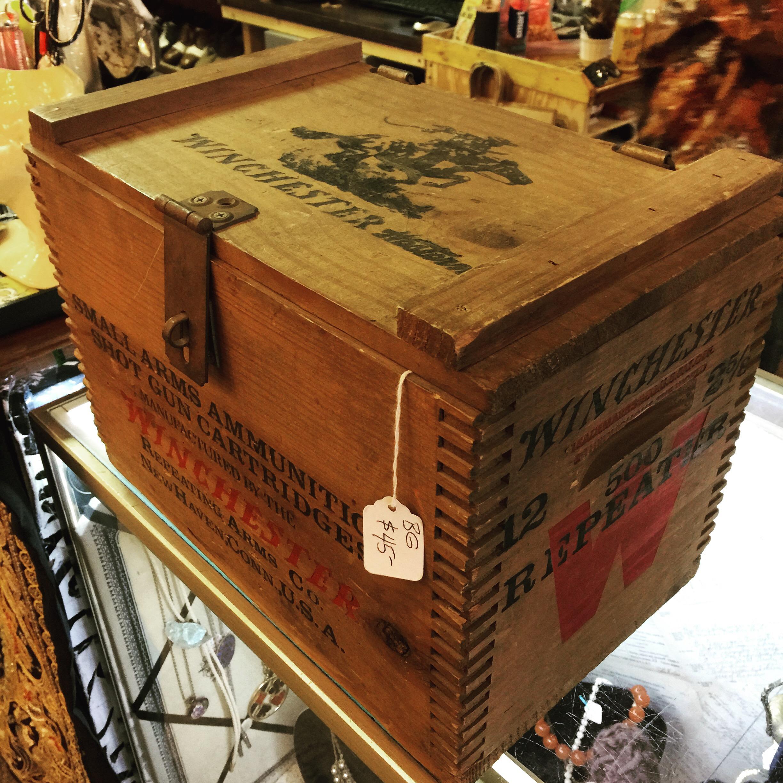 Winchester Ammo Box | DOLLY PYTHON